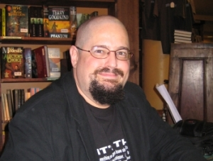 Charles Stross at the Tattered Cover signing Aug 7, 2008