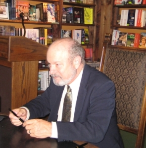 Joe Haldeman at the Tattered Cover signing Aug 7, 2008