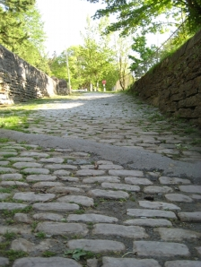 GG Steep Cobbled walkway